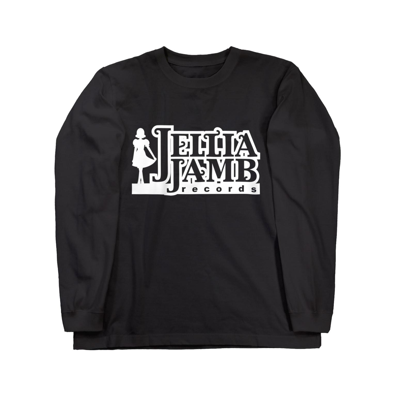 KohsukeのJellia Jamb Records ロングスリーブTシャツ