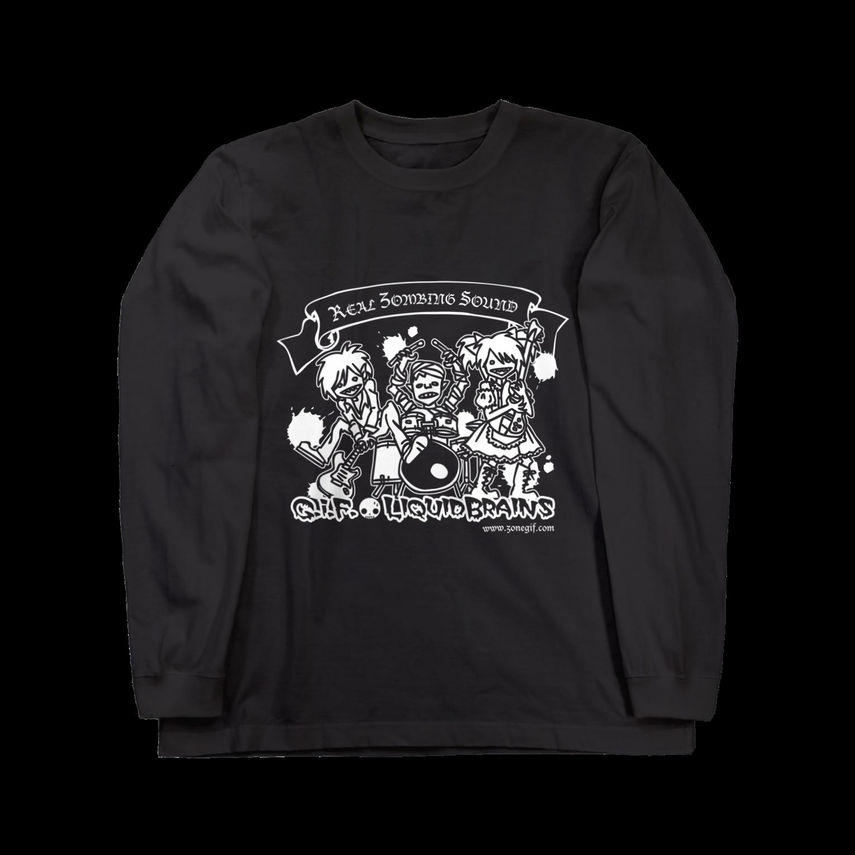 KohsukeのReal Zombing SoundロングスリーブTシャツ