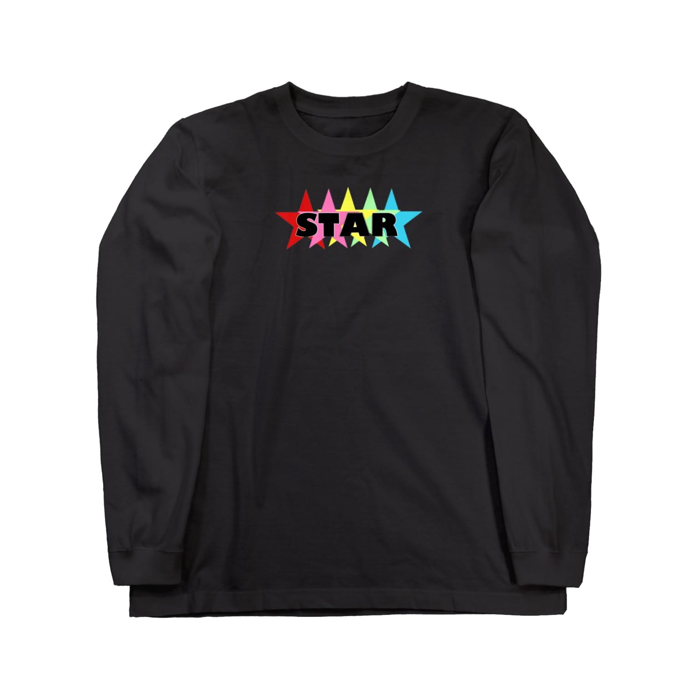 BIJOUのSTAR☆ Long sleeve T-shirts