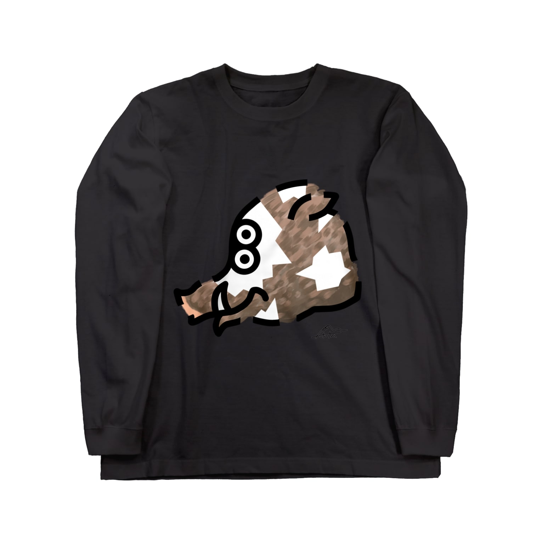 flounder2のイ Long sleeve T-shirts
