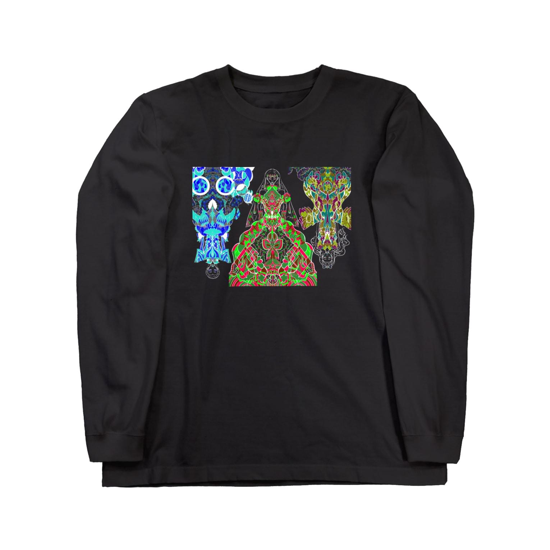 F.W.W.の(be) theSTAR  #夢 Long sleeve T-shirts