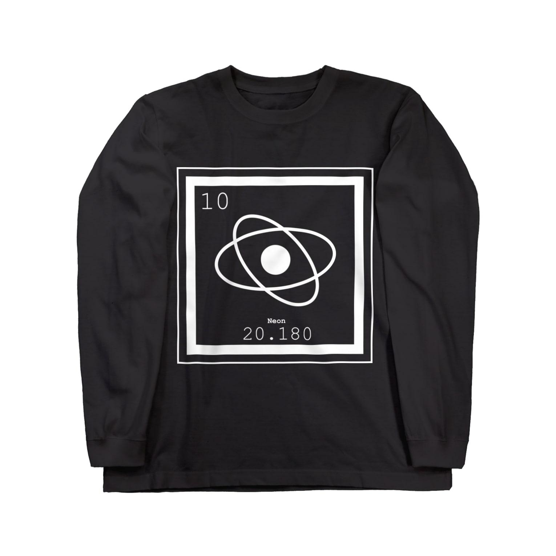 i_shoの【i sho】Neonシリーズ Long sleeve T-shirts
