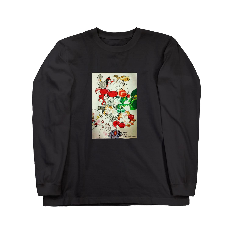 Metamorphoses~Strange&Bizzare~のお香 Long sleeve T-shirts