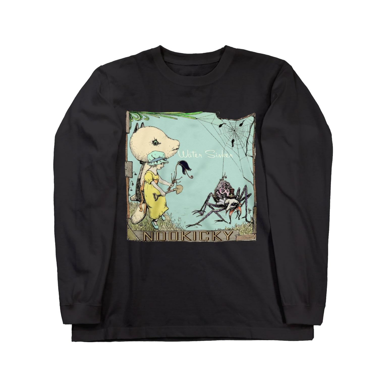 FINCH LIQUEUR RECORDSのWatersinker Long sleeve T-shirts