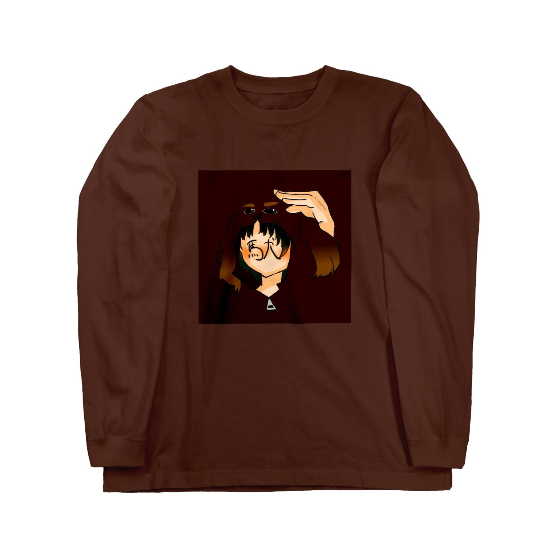 yuinonn0824の花咲学園(駄犬さん) Long sleeve T-shirts
