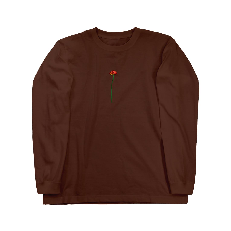 Lil'Tyler's Clothing.の「OG FLOWER」 Long sleeve T-shirts