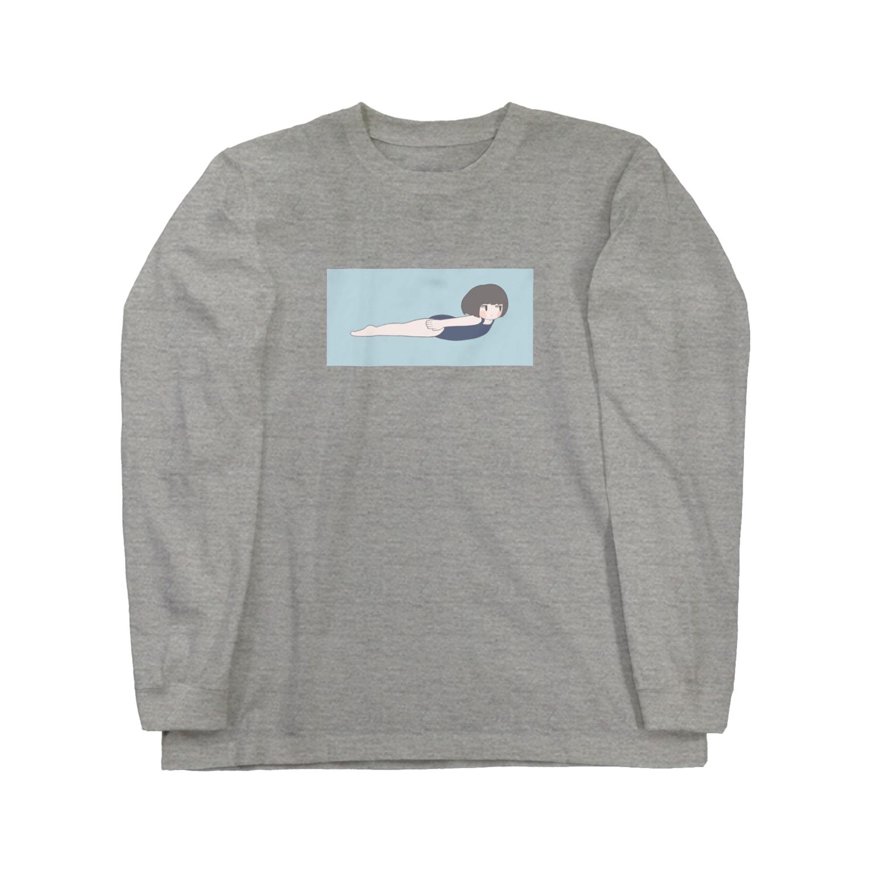 みおのおよぐ Long sleeve T-shirts