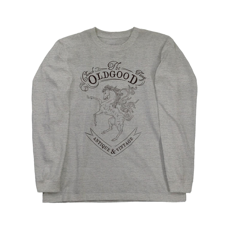 NAPOLI710のcherish Good old things Long sleeve T-shirts