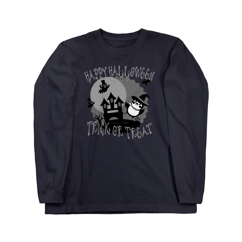 aliveONLINE SUZURI店のだいきちハロウィン Long sleeve T-shirts