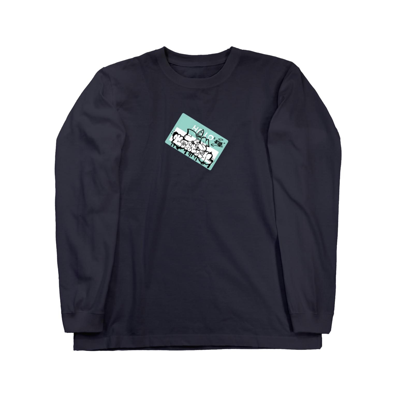 Distortionの歪倶楽部 Long sleeve T-shirts