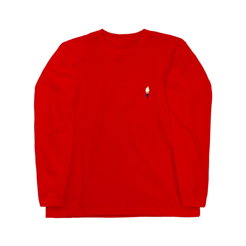 IN-SHOCKのソフトクリーム Long sleeve T-shirts