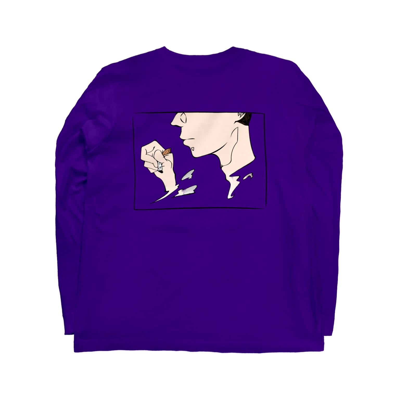 atelier_jhonのたばこ Long sleeve T-shirts