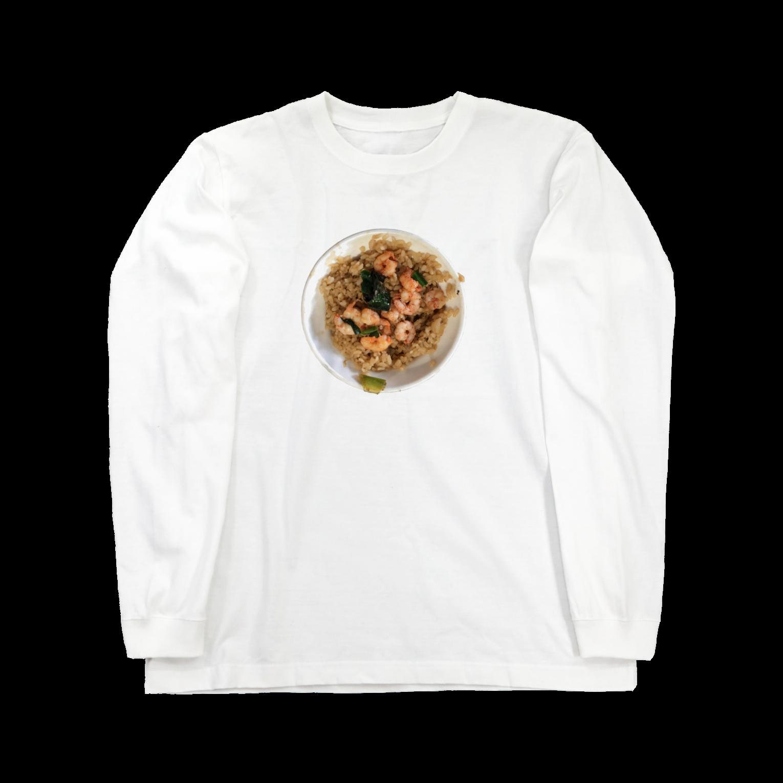 宮本菜津子 - Natsuko Miyamotoの蝦仁飯ロングスリーブTシャツ