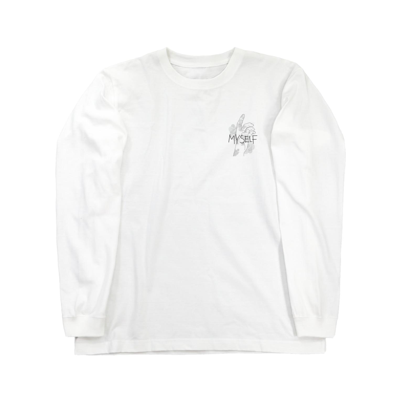 s_____516のmyself ロングスリーブTシャツ