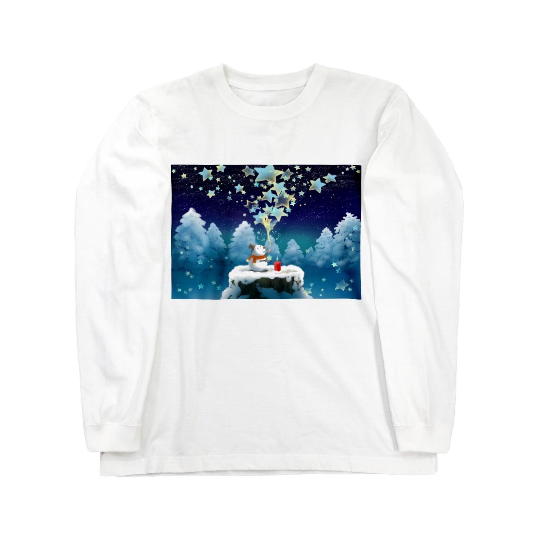KimikoUmekawaの星屑 ロングスリーブTシャツ