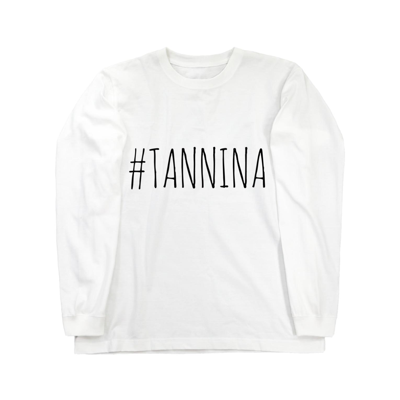 Tanninaの#TANNINA ロングスリーブTシャツ
