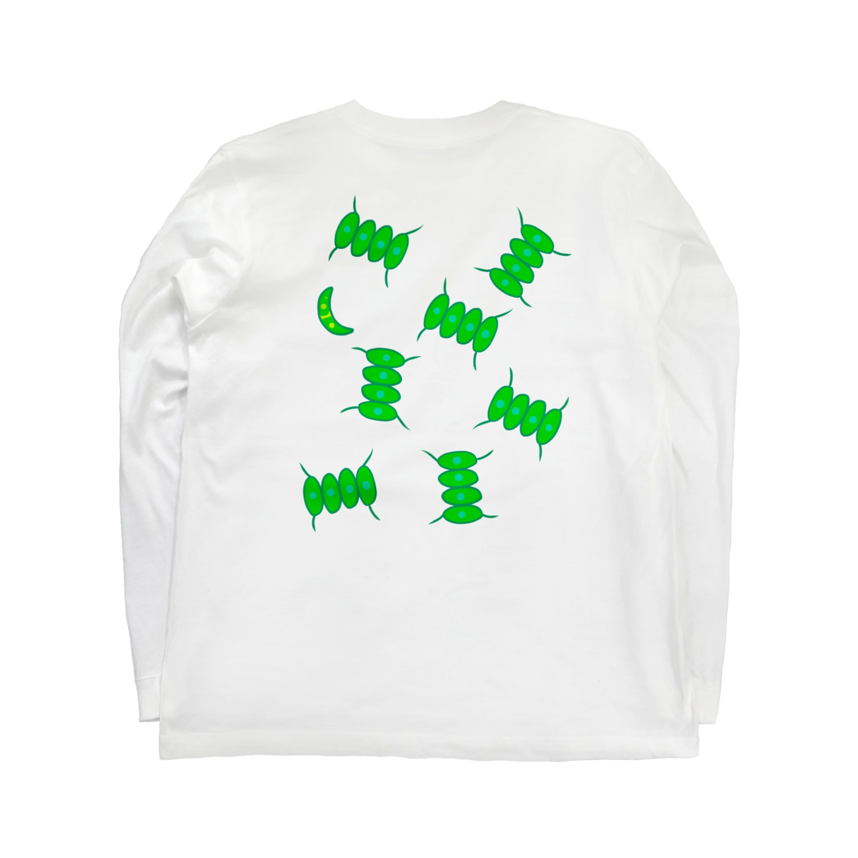 ✳︎トトフィム✳︎のイカダモダモノ Long sleeve T-shirts