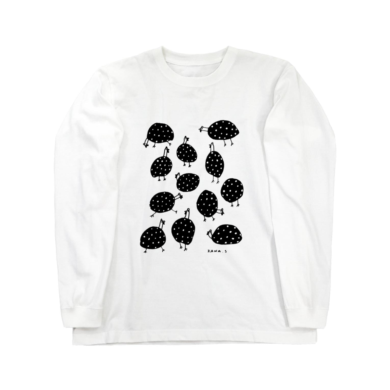 Kanonchen(カノンヒェン)のホロホロほろほろ Long sleeve T-shirts