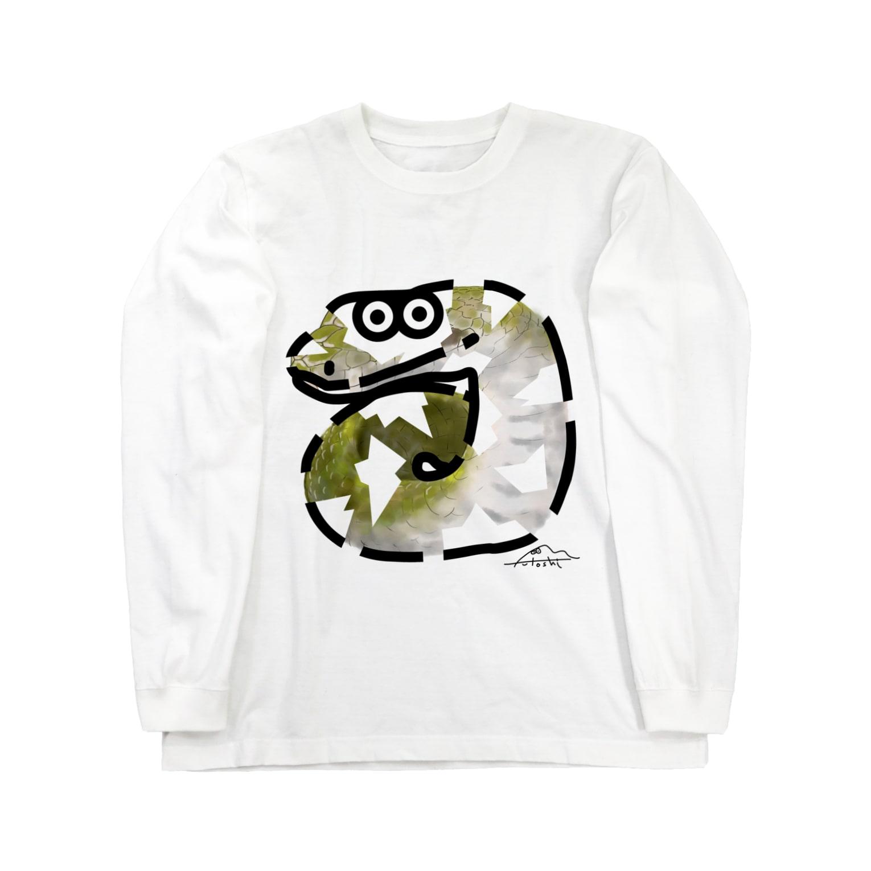flounder2のミ Long sleeve T-shirts