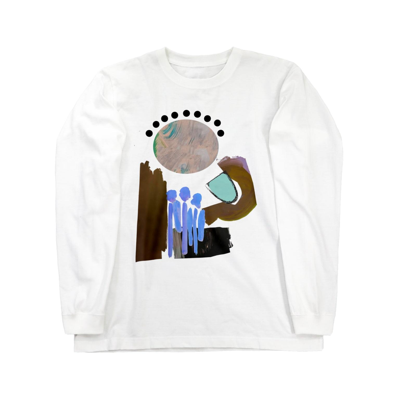 annaの水あげ Long sleeve T-shirts