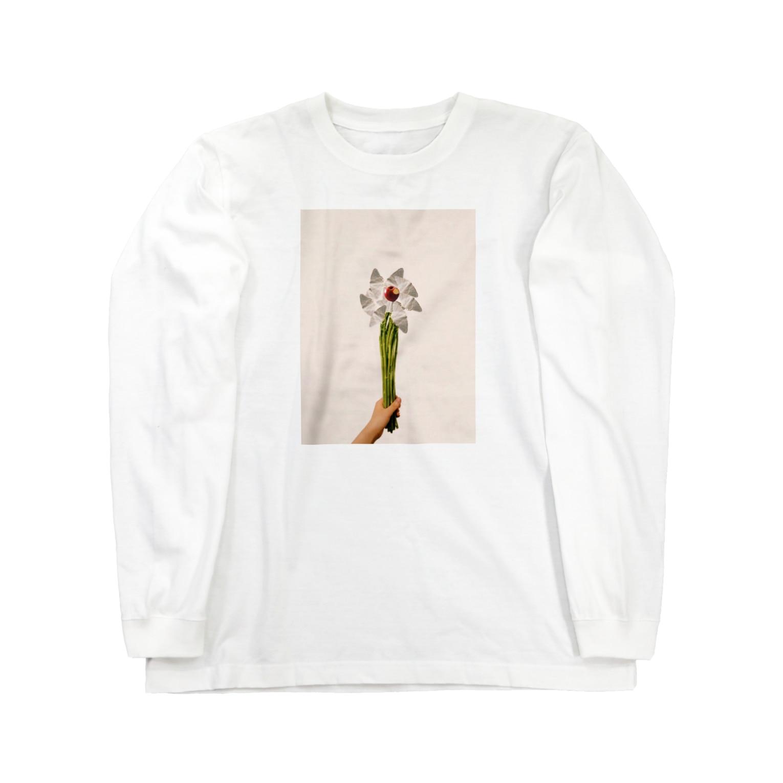 sayuのcollage Long sleeve T-shirts