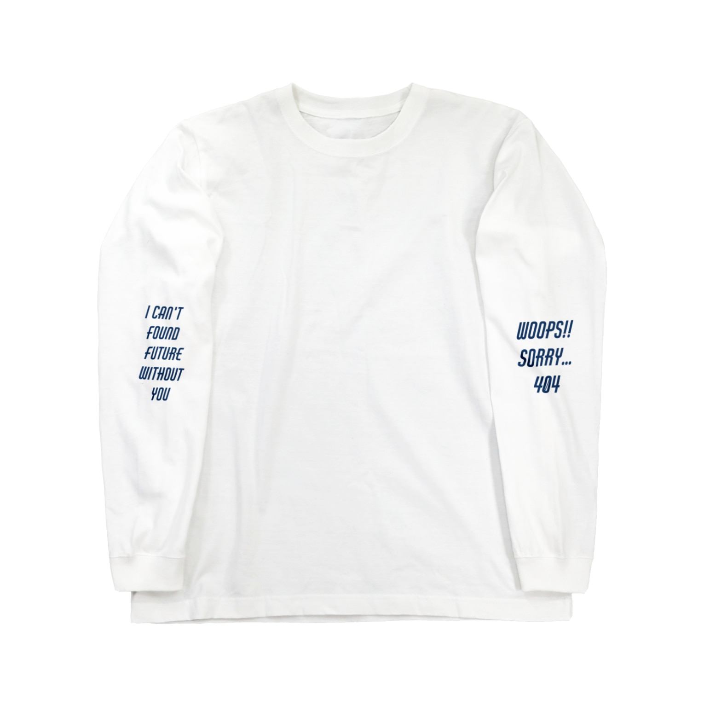 akane nakajimaのerror Long sleeve T-shirts