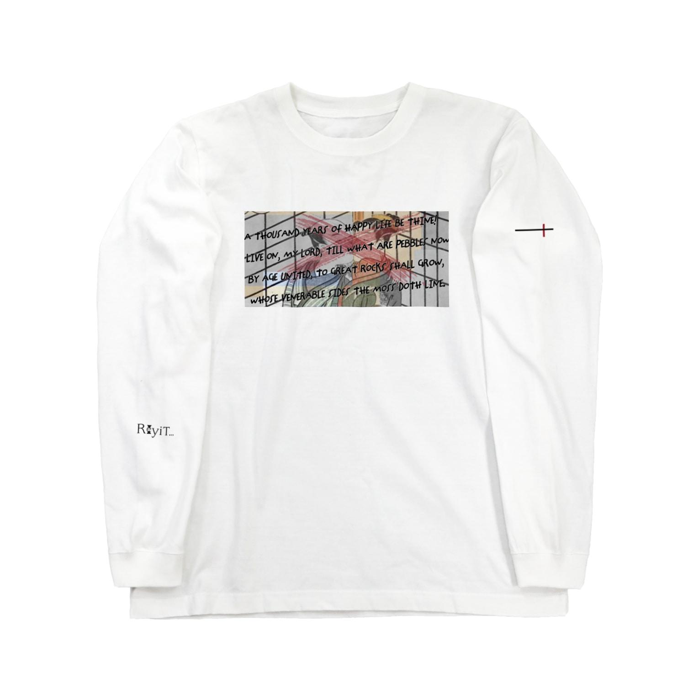 Re:yiTの日本 japan平成令和  Long sleeve T-shirts