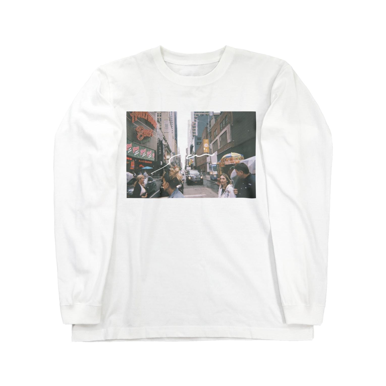sai_isのin NY Long sleeve T-shirts