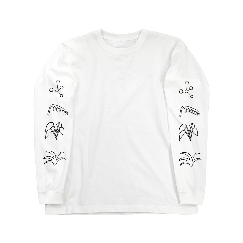 oyasmurの35日分 Long sleeve T-shirts