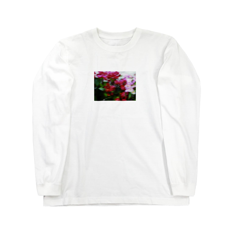 oyumi bedtownのthink Long sleeve T-shirts
