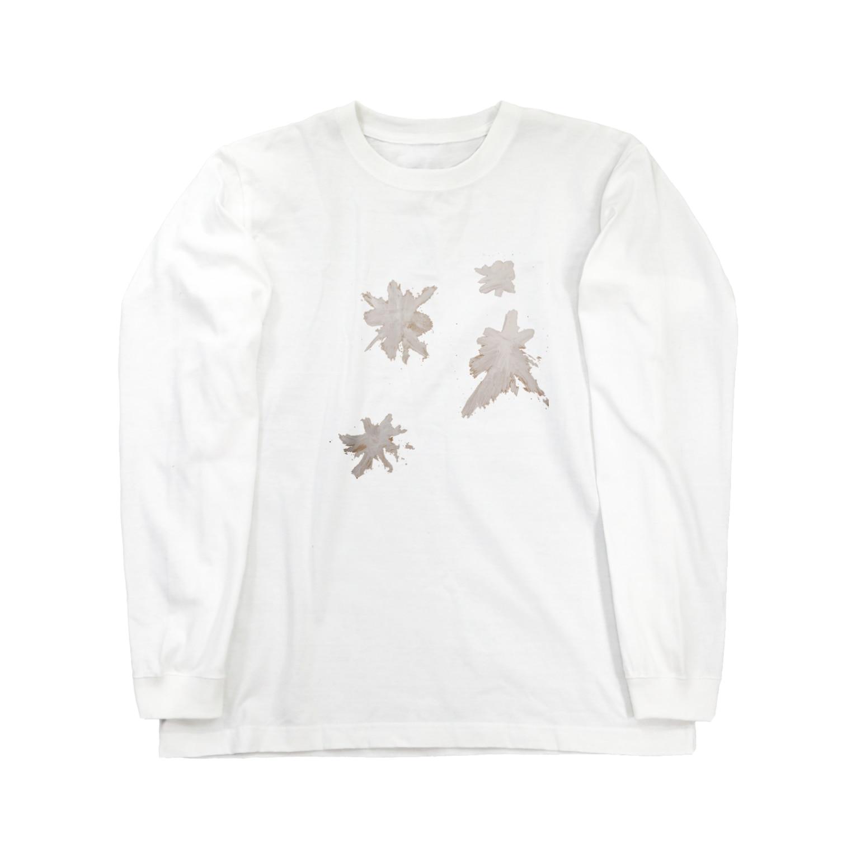 sayuのおばあちゃん家の窓ガラス Long sleeve T-shirts