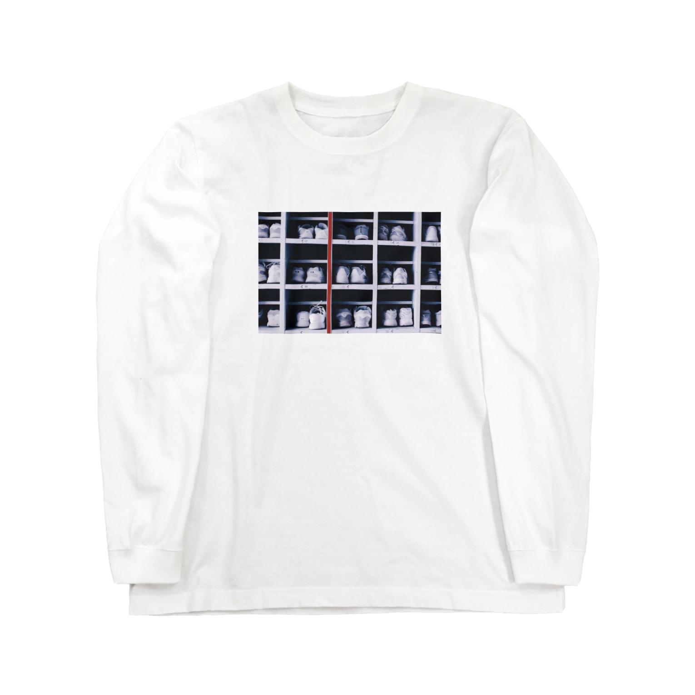 tenpraの下駄箱 Long sleeve T-shirts
