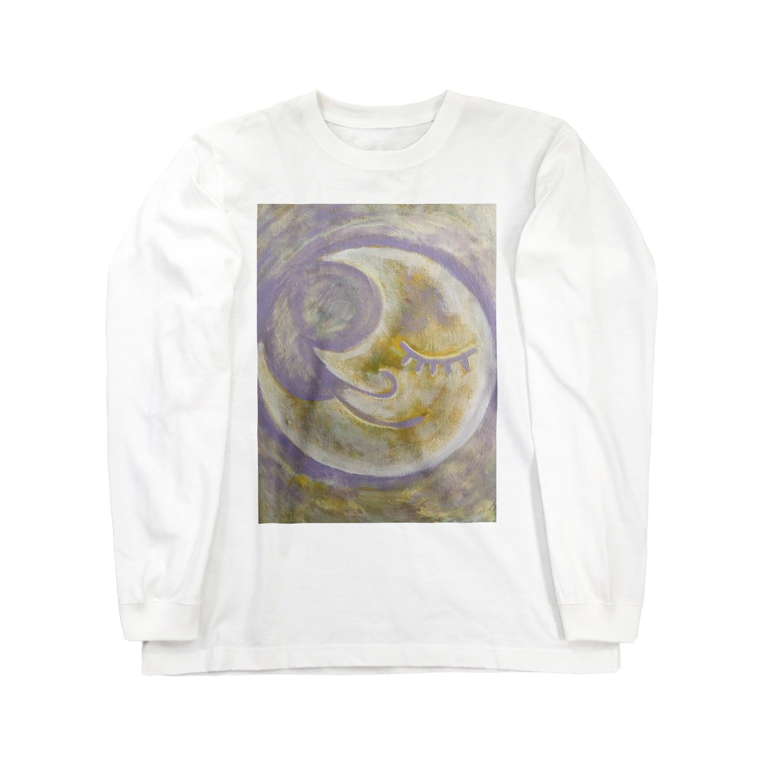 happymoonkobeのhappymoonkobe Purple Long sleeve T-shirts