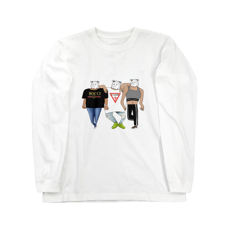 nowchimaのふ Long sleeve T-shirts