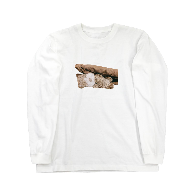 ncncccncの潰されこた Long sleeve T-shirts