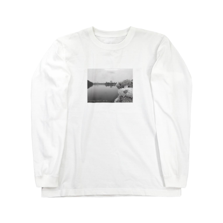 ncncccncのこたつin the lake Long sleeve T-shirts