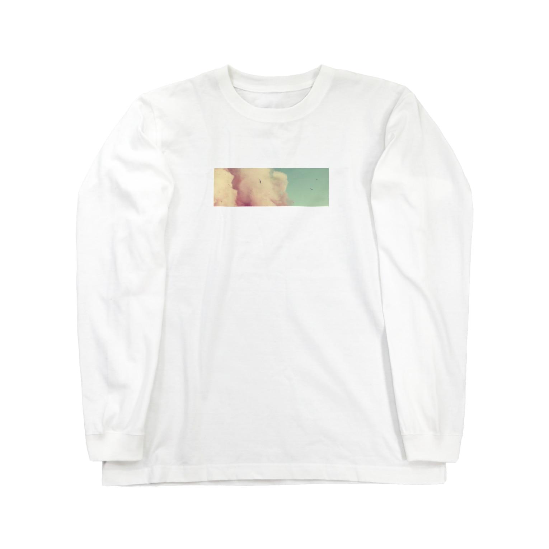 good nightの質素に Long sleeve T-shirts