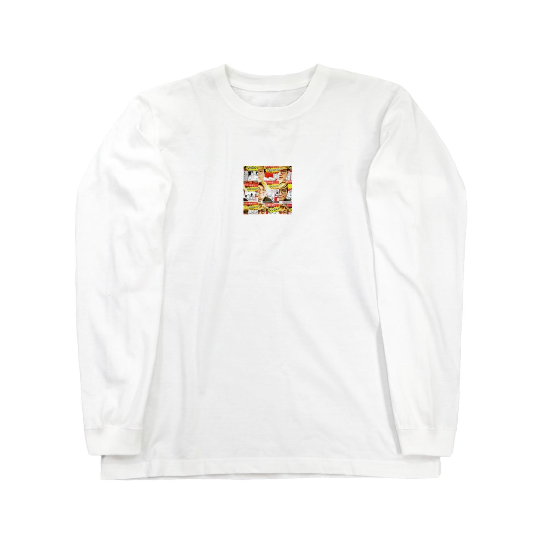 mn_yuskのまのてぃー Long sleeve T-shirts