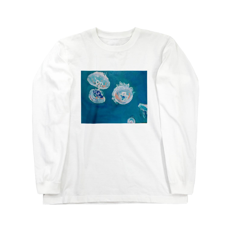 ✈オノウエ コウキの海月姫 Long sleeve T-shirts
