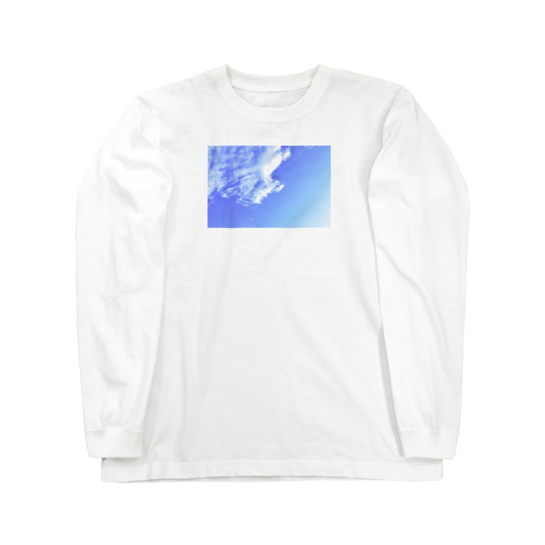 rinn_rsの蒼空 Long sleeve T-shirts
