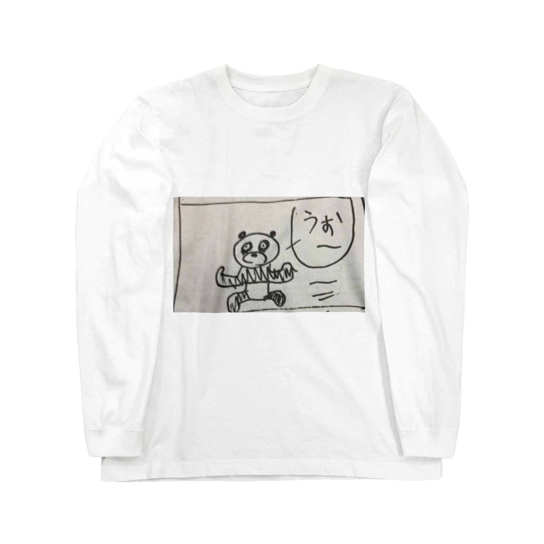 ToiletGirlのパンダちゃん走る! Long sleeve T-shirts