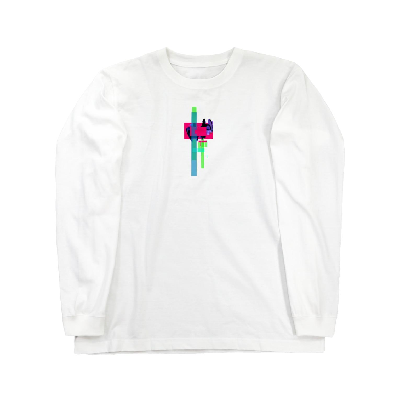 L66lのL66l memories. Long sleeve T-shirts