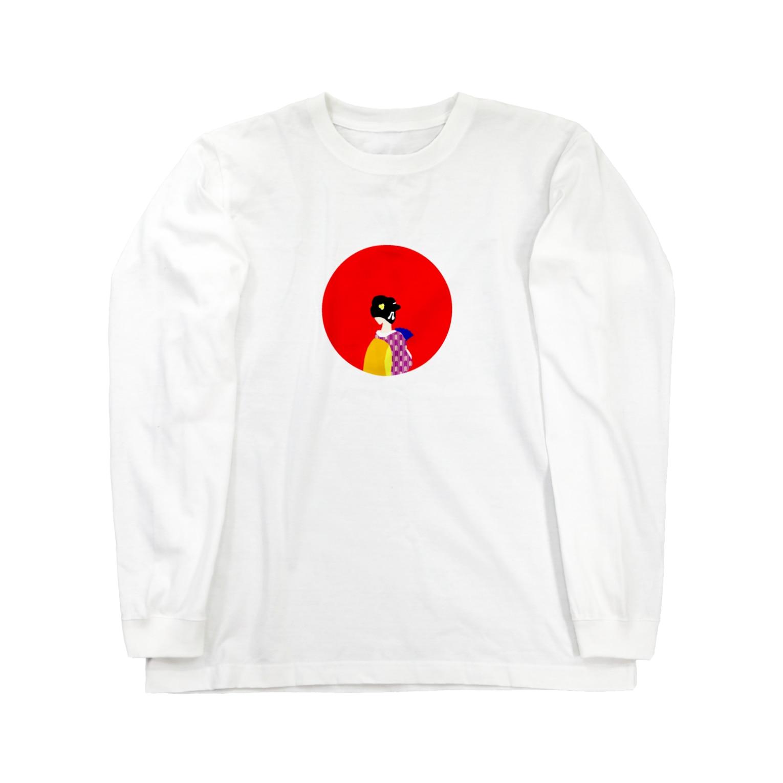 銀鈴堂(ミッドナイトクラブ)のシャツ姫救出絵巻 Long sleeve T-shirts