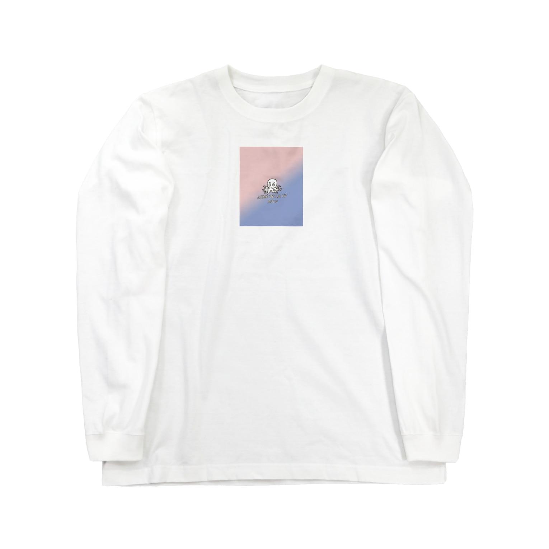 Yoon-1004-95のたこ Long sleeve T-shirts