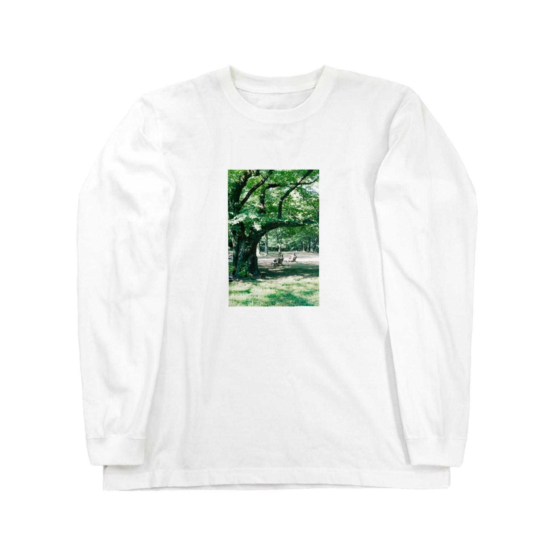 Shogo Hirokiのpark Long sleeve T-shirts