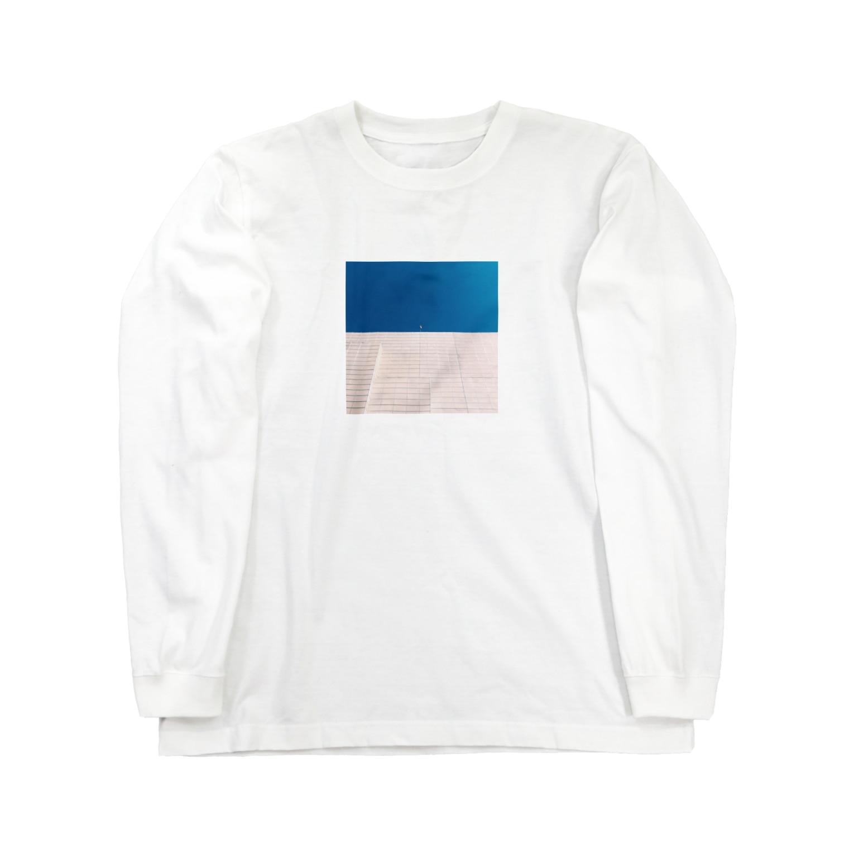 Shogo Hirokiのflag Long sleeve T-shirts