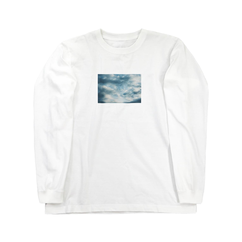 Shogo Hirokiの空 Long sleeve T-shirts