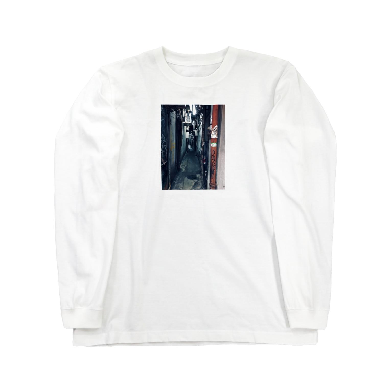 2e8hOU2dOeXjj28の街のそんな風景 Long sleeve T-shirts