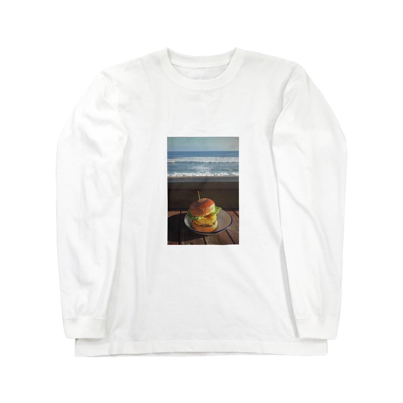 y_toniのhamburger Long sleeve T-shirts