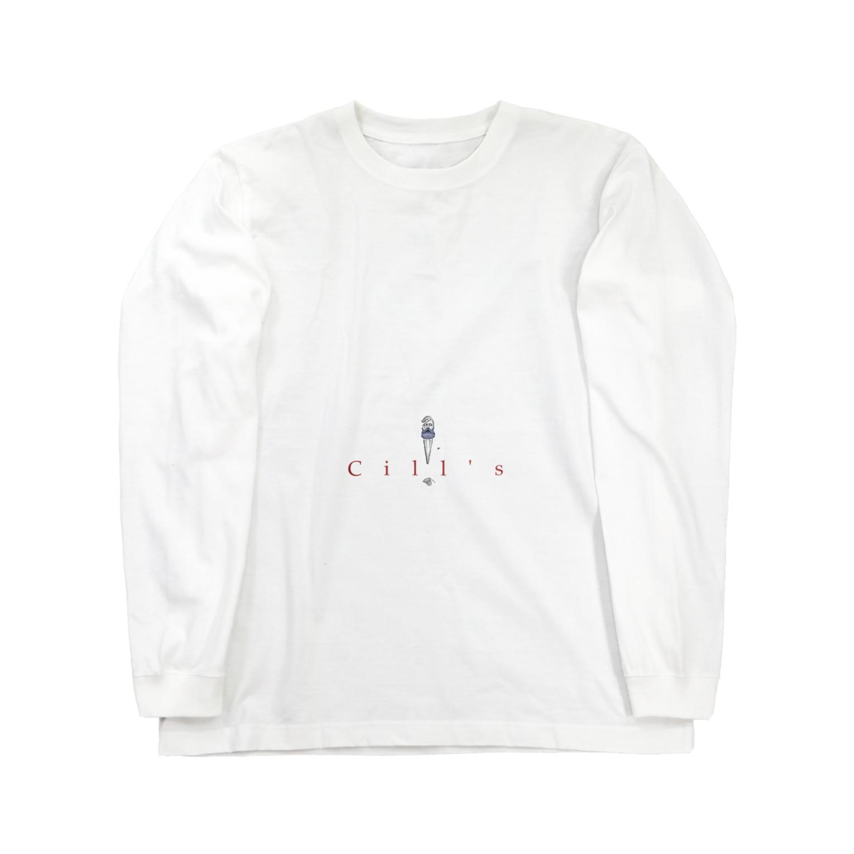 ruiitorui0102のCili's Long sleeve T-shirts